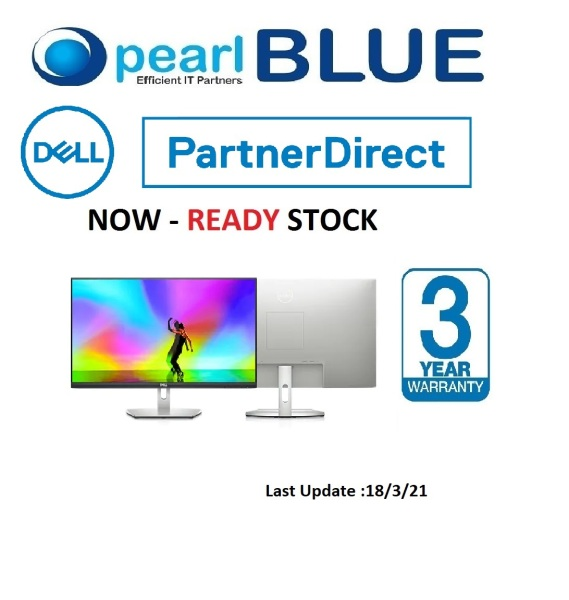 [READY STOCK] Dell 27 Monitor S2721H | 27 FHD monitor (Replacement of S2719H)