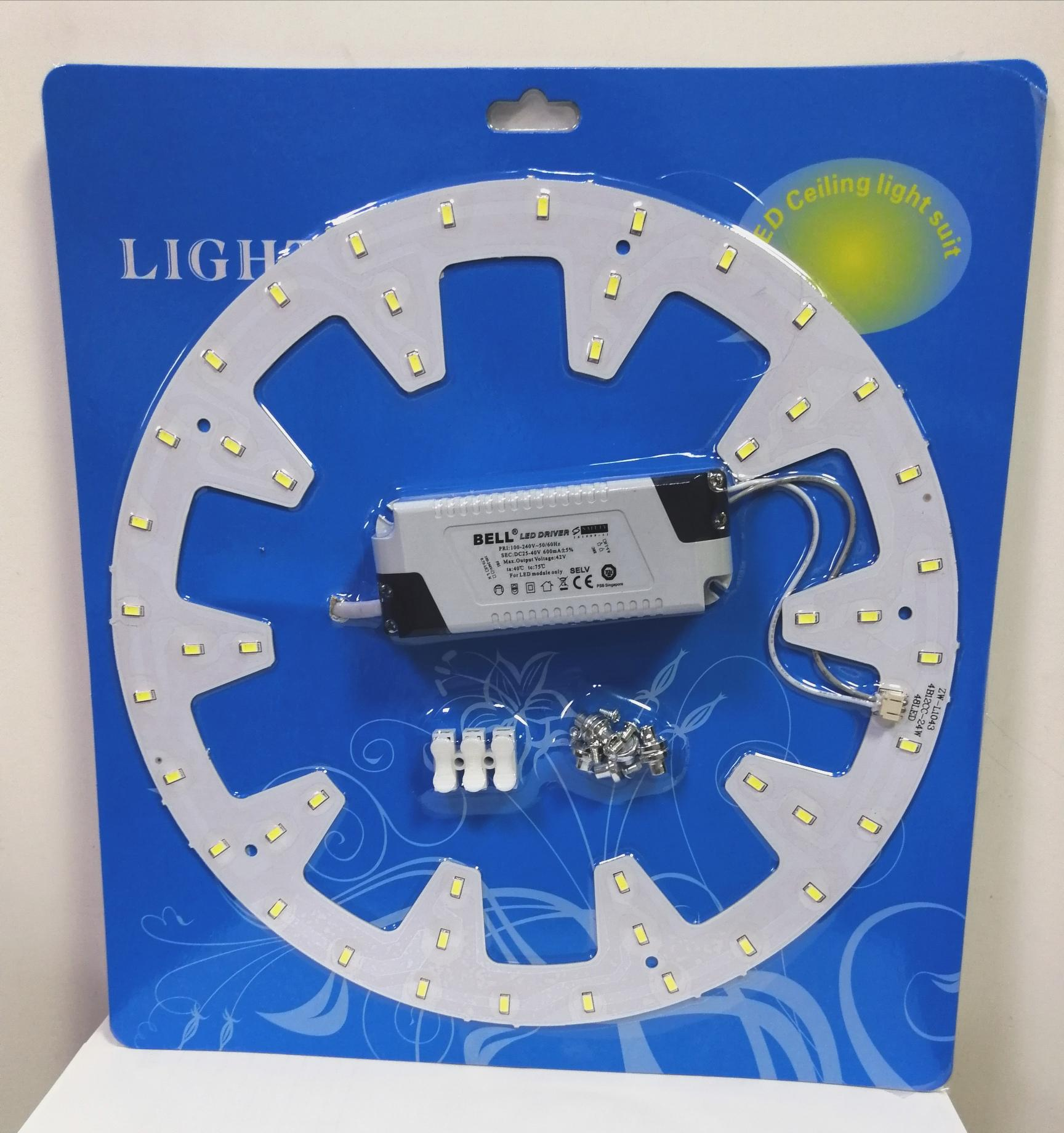 24W LED Ceiling Light Cold White 270MM With Magnets