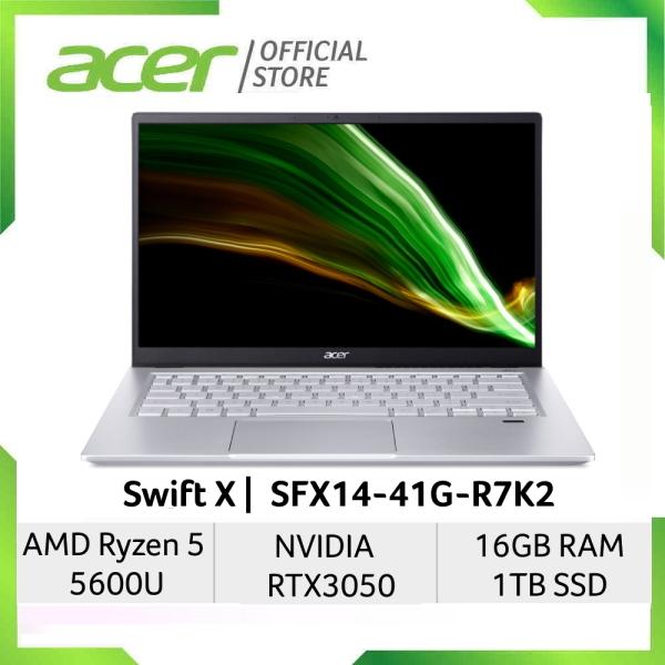 [NEW MODEL] [NVIDIA RTX 3050 GRAPHIC and Ryzen 5 5600U] Acer Swift X SFX14-41G-R7K2 14-Inch FHD IPS 100%sRGB Laptop   Ryzen 5 5600U   NVIDIA RTX 3050 Graphic   16GB RAM   1TB SSD