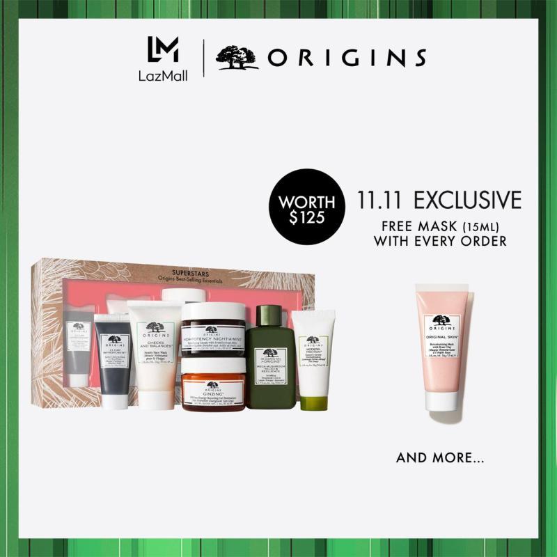 Buy [Limited Edition] Origins SUPERSTARS SET: Origins Best-Selling Essentials (Worth $125) Singapore