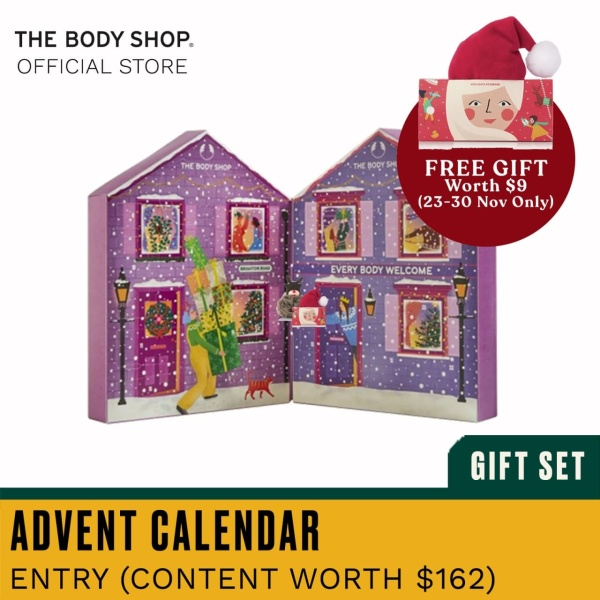 Buy The Body Shop Make It Real Together Advent Calendar (Christmas Gift Set) Singapore