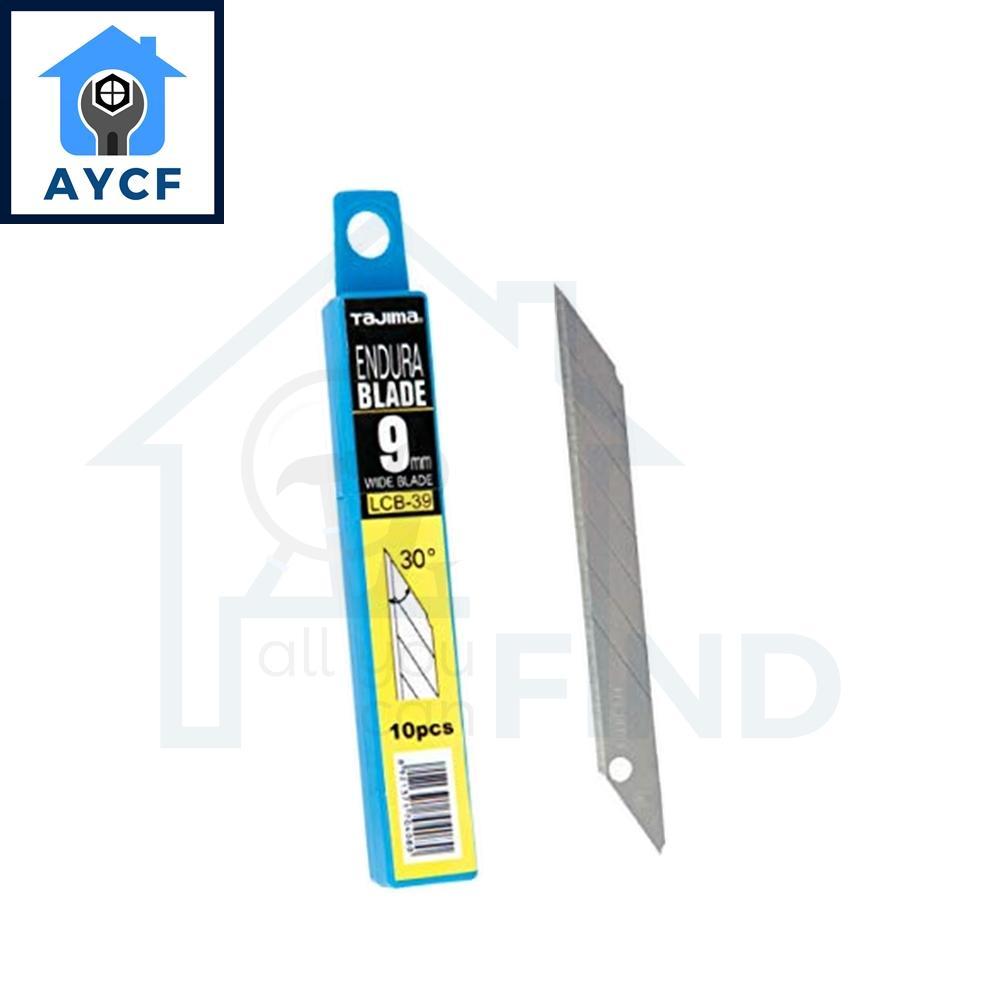 (FOR REFILL) TAJIMA Endura Blade (10Pcs) - 9mm Wide Blade - Blade angle 30 degrees - LCB-39
