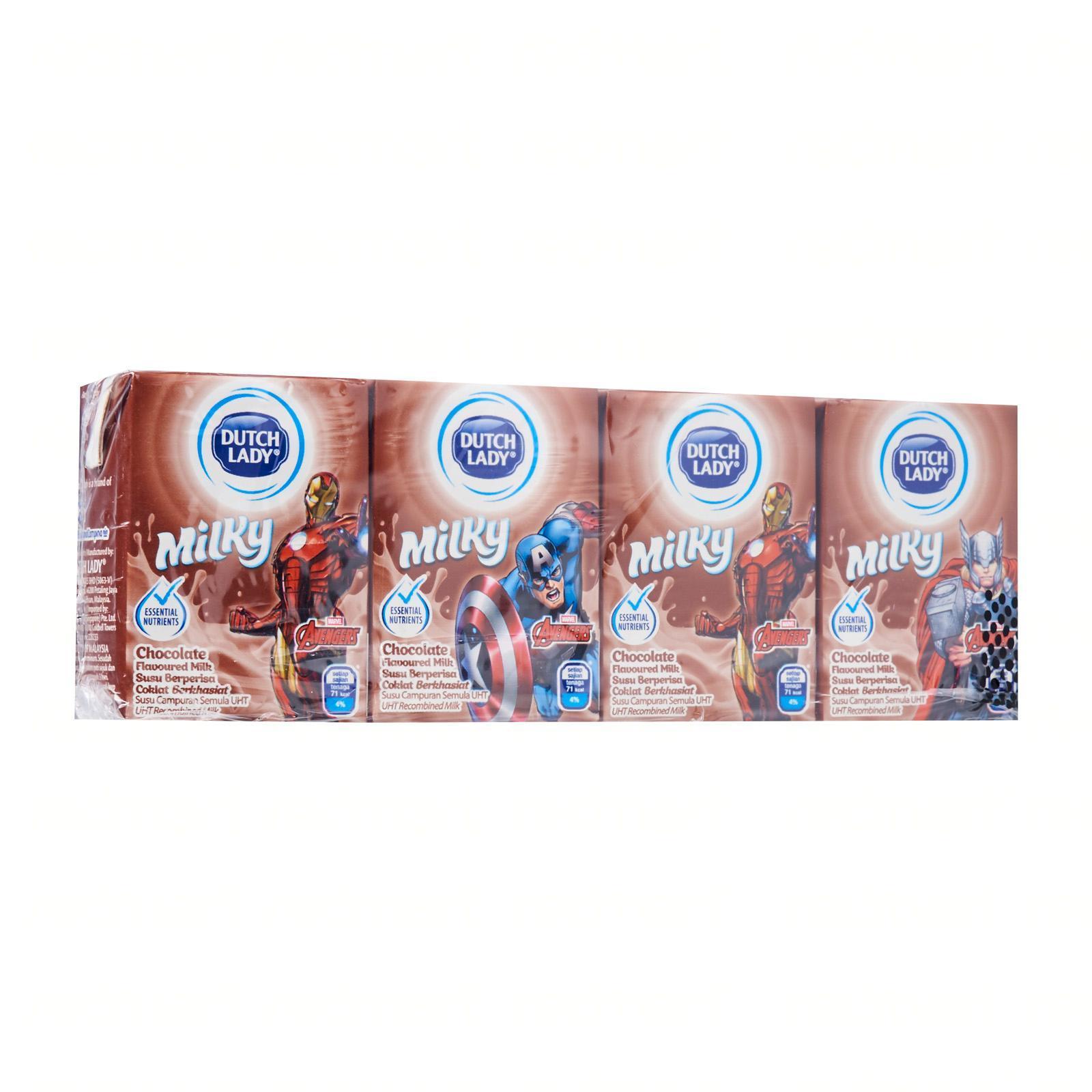Dutch Lady Marvel Milky Chocolate UHT Milk