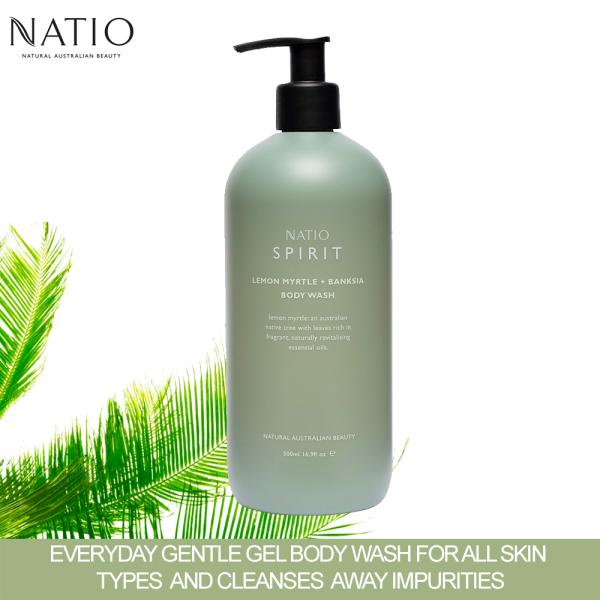 Buy Natio Spirit Lemon Myrtle Banksia Body Wash 500ml Singapore
