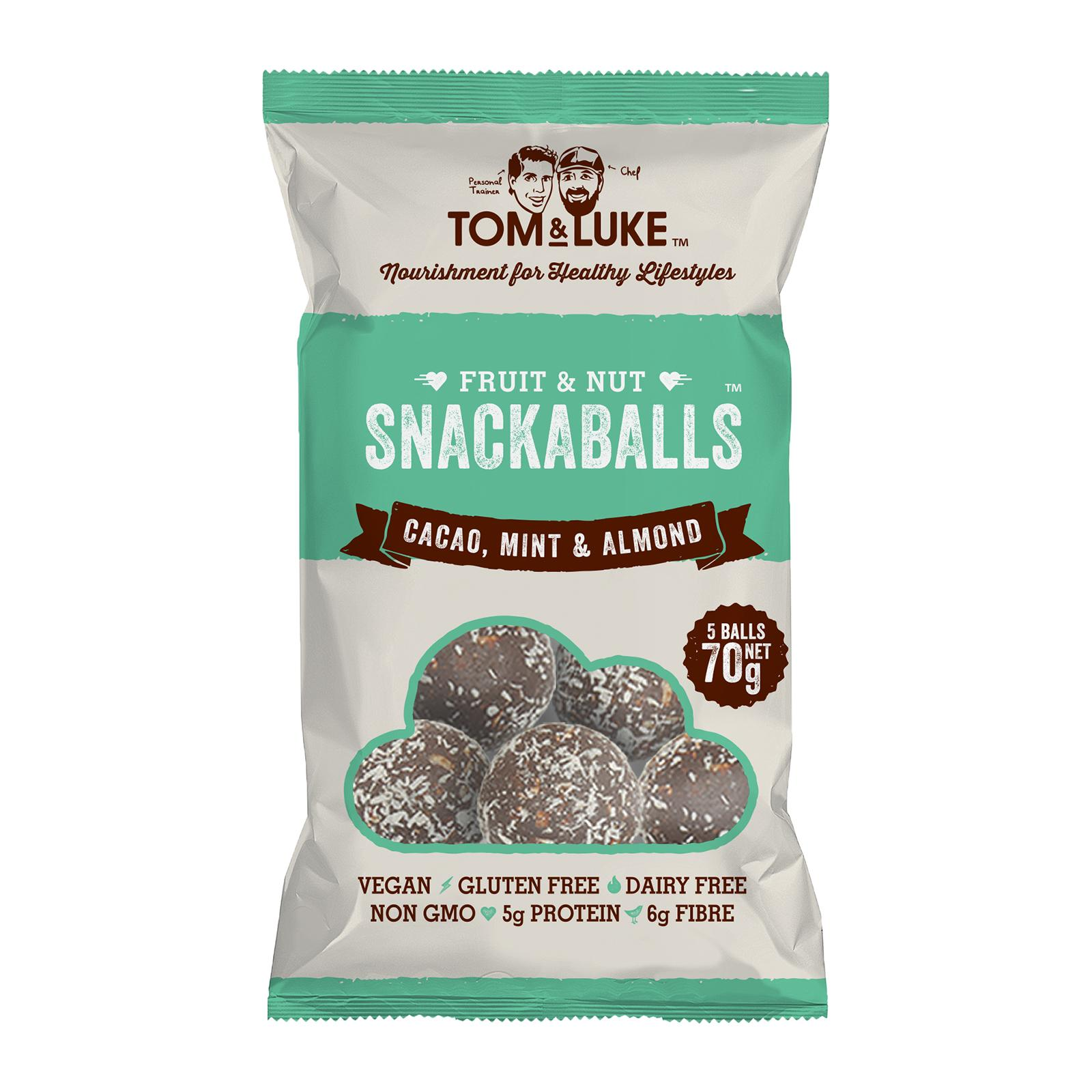 Tom & Luke Snackaball - Cacao Mint and Almond