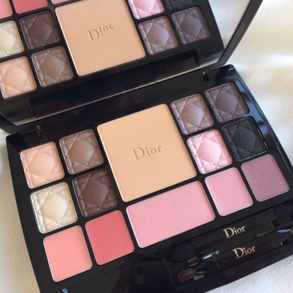 Buy Dior Couture Palette Edition Voyage Total Makeover Palette Limited Edition Singapore