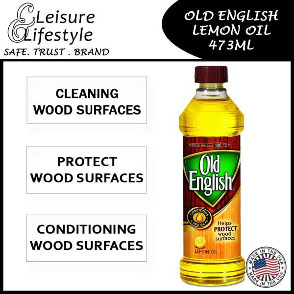 Old English Lemon Oil Wood Conditioning & Protecting 473ml 16 Oz Clean Wood Surfaces and Protect Wood Surfaces Old English