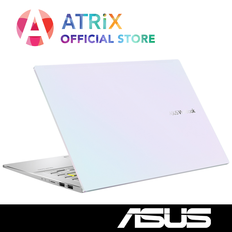 【Same Day Delivery】ASUS 2020 VivoBook S14 S433〖Free Office 2019〗Wifi 6 | 16.1mm Slim design | 14inch FHD | i7-1065G7 | 8GB RAM | 1TB PCIe SSD | MX350 Graphics | Win10 Home | 2Yrs ASUS Warranty | S433JQ-EB085T
