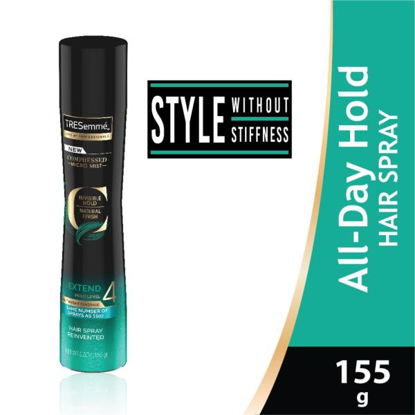 Buy Tresemme Compressed Micro-Mist Level 4 All Day Hold Hair Spray 155g Singapore