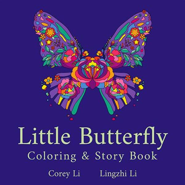 Little Butterfly: Coloring and Story Book