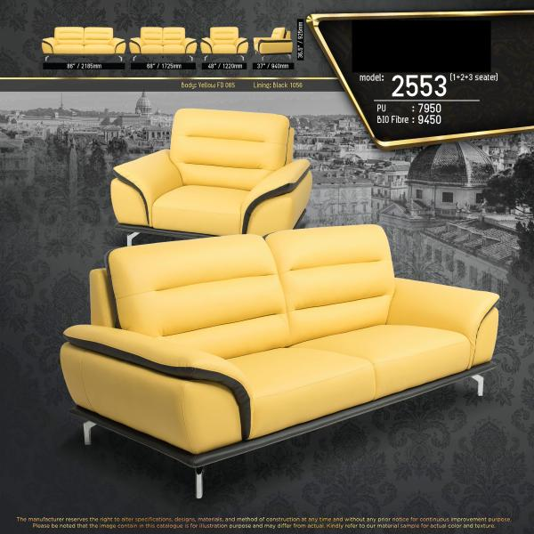Nashville 1+2+3 Seater Fully Leather Sofa Lounge Chair Living Hall Sofa Chair With 10 Years Warranty