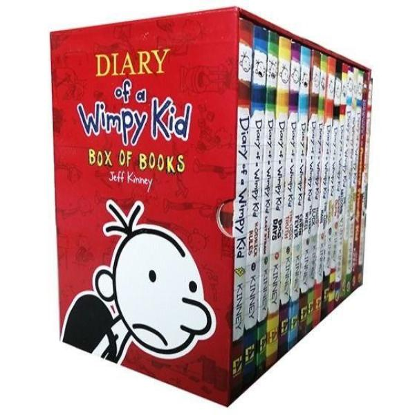 [SG READY STOCK] Diary of a Wimpy Kid (16 Books)
