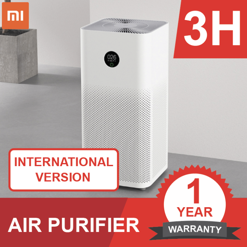 [READY STOCKS!] Xiaomi Air Purifier GEN 3H English Model / Less noise / Large capacity [NEW!] Singapore