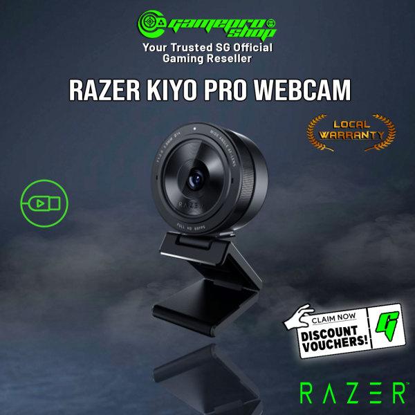 Razer Kiyo Pro Webcam with Adaptive Light Sensor (1Y)