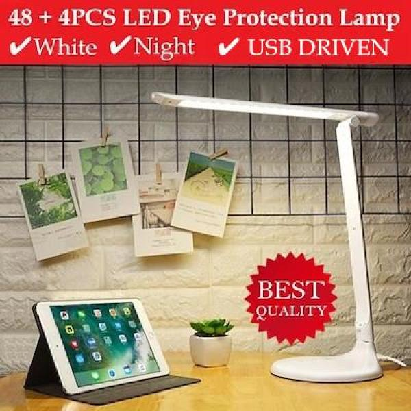 [LOCAL READY STOCK] Eye Protection LED Table Lamp / Cold Night / Brightness Adjustable