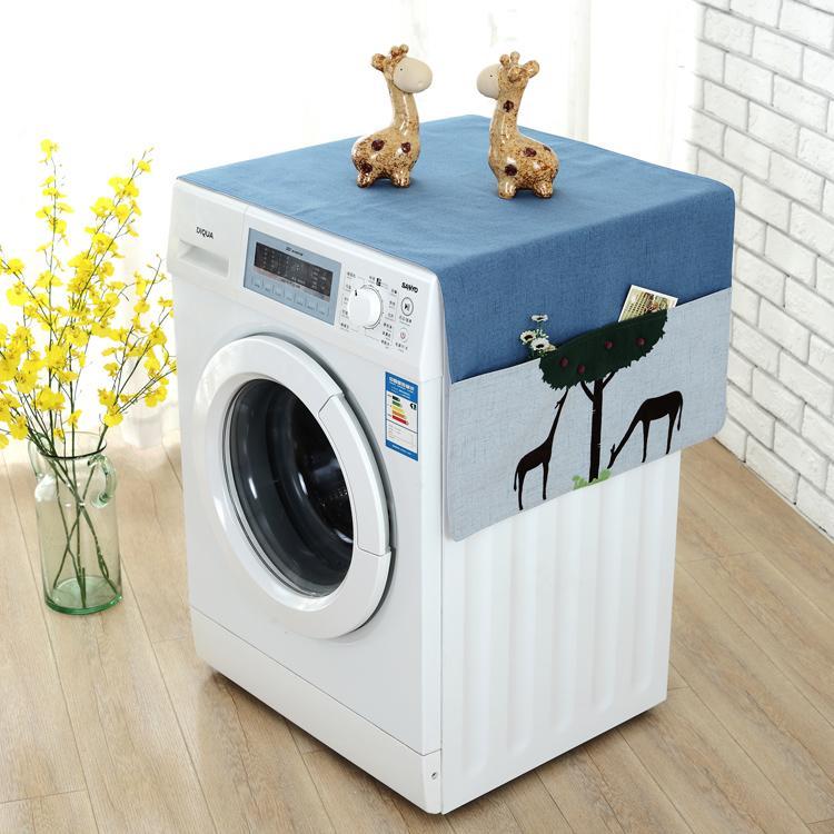 Haier Roller Washing Machine Cover Roller-Littleswan Panasonic Hisense Washing Machine Dust Cover Midea Panasonic Universal