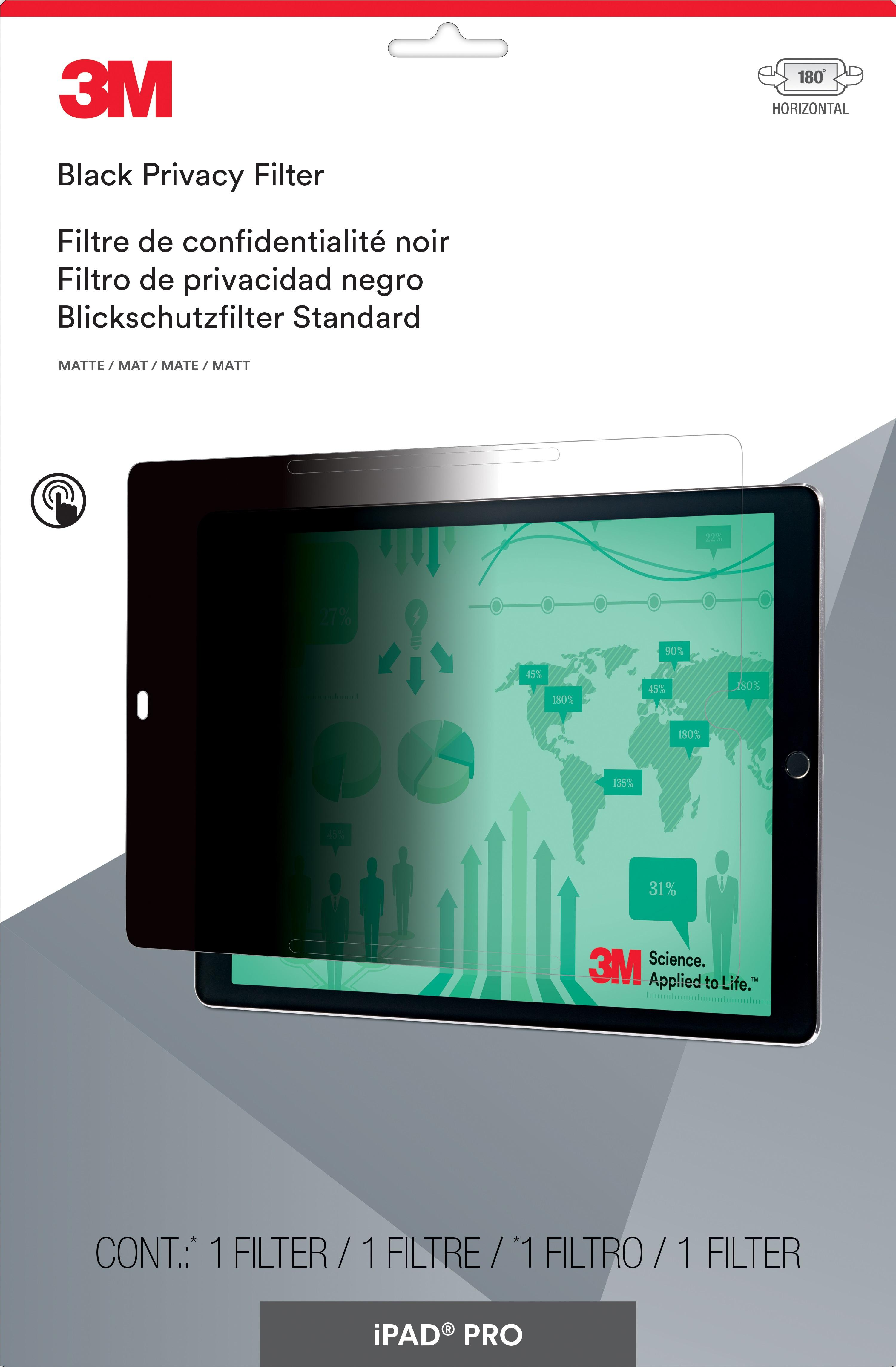 3M™ Privacy Filter for Apple® iPad Pro® 12.9-inch Landscape (PFTAP007) - 302 mm (W) x 217 mm (H)