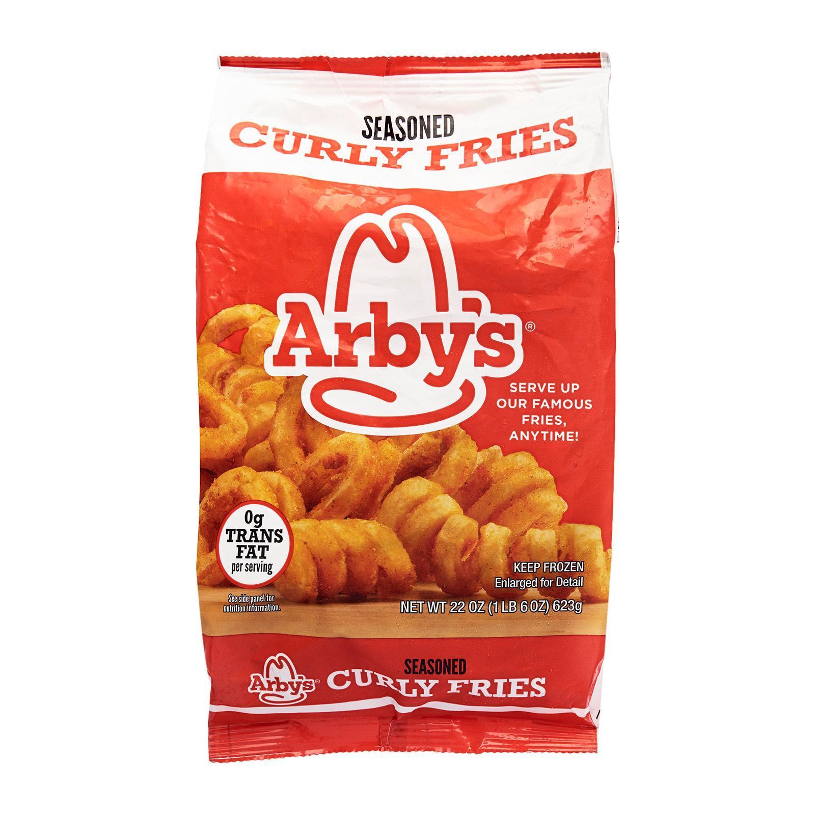 Arbys Seasoned Curly Fries - Frozen By Redmart.