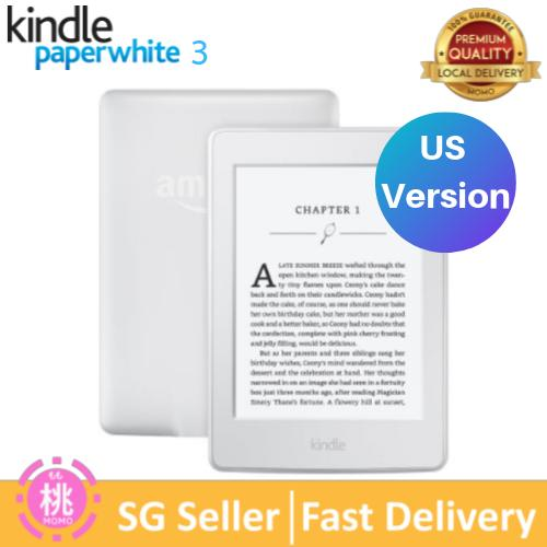 Amazon KINDLE Paperwhite 3 FREE Screen Protector (Wi-Fi Only, With Special  Offers, 4GB, 300PPI, (White or Black)