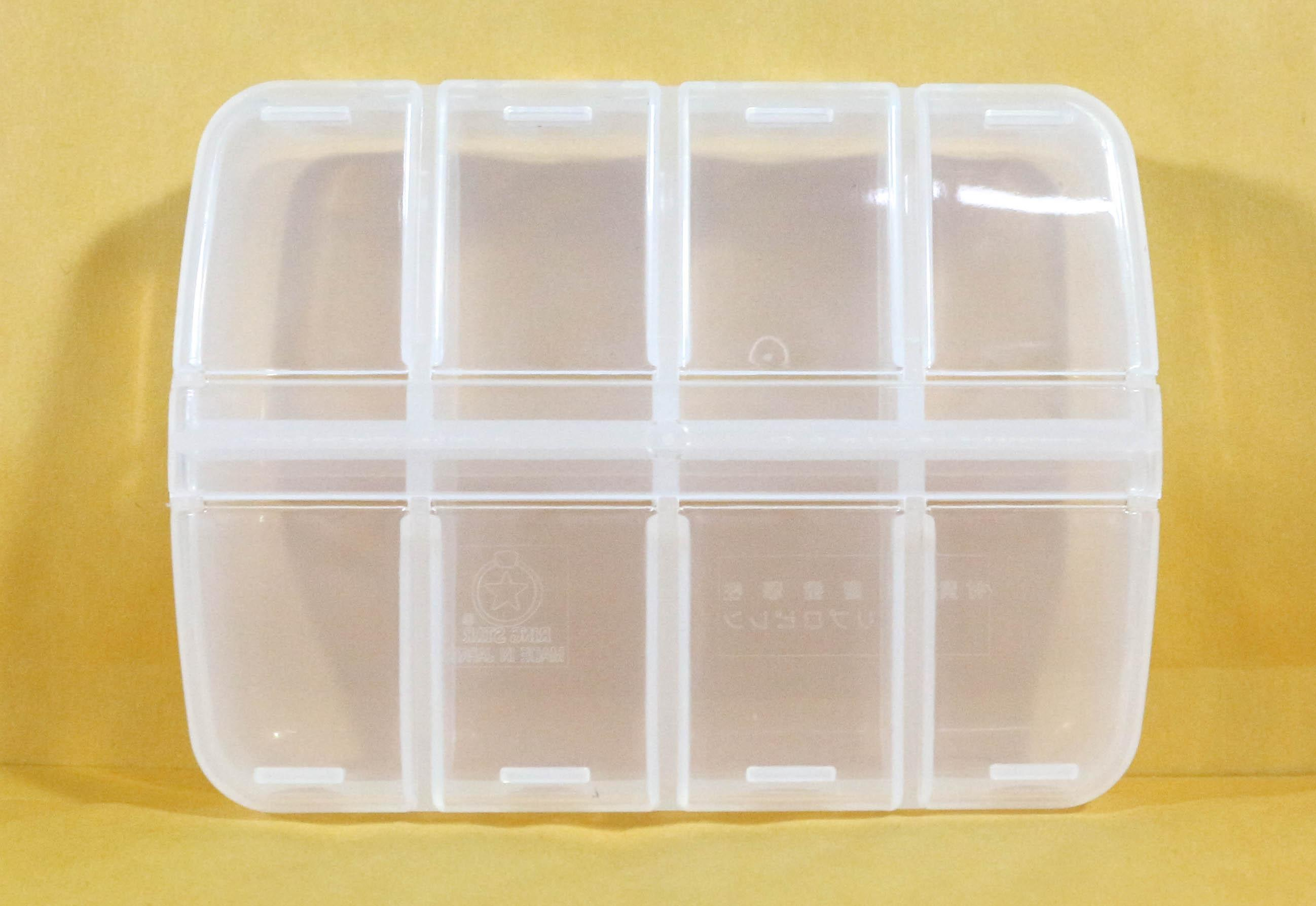5417 Ring Star PT-110 My Petite Tackle Box 110 x 32 mm Clear