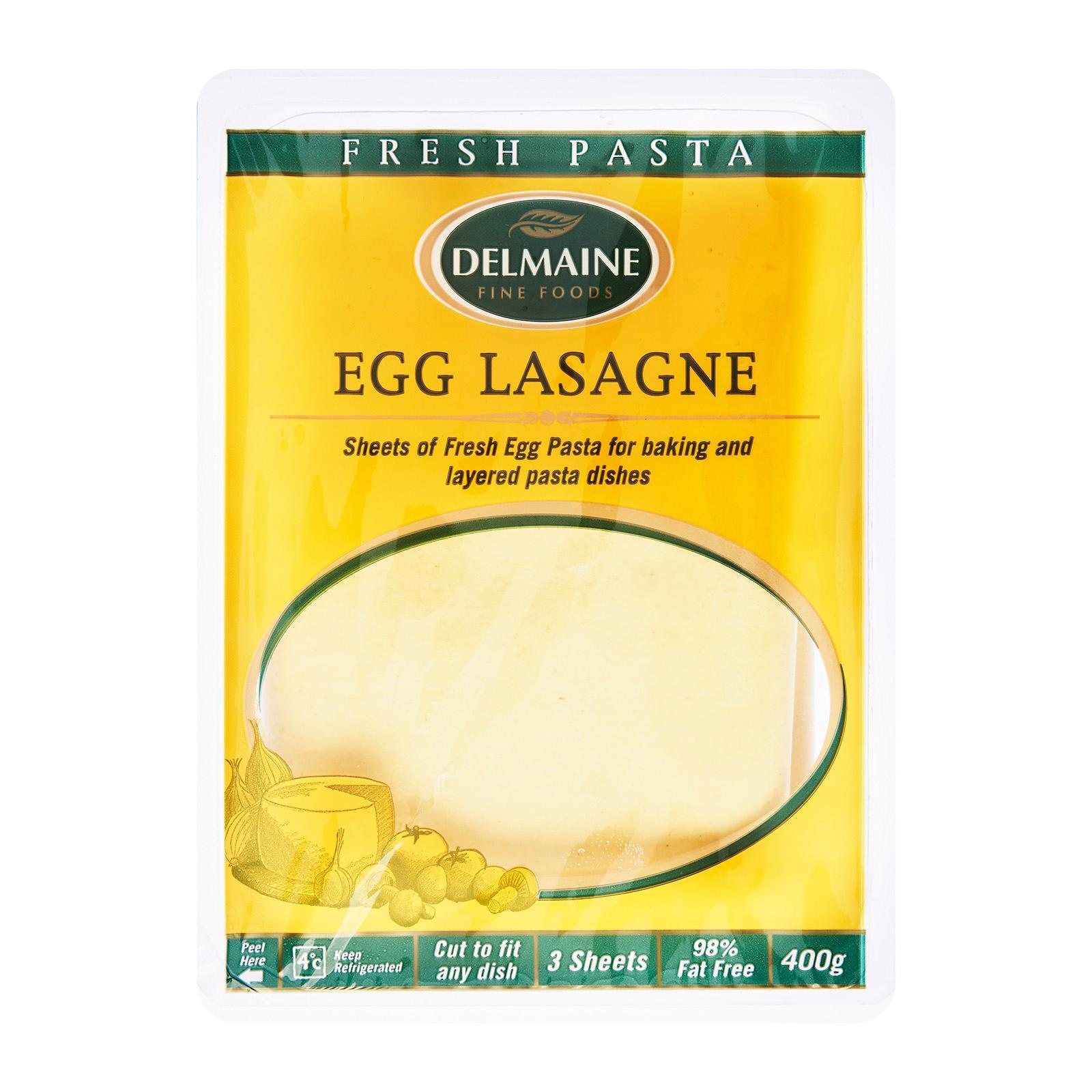Delmaine Egg Lasagne Sheets By Redmart.