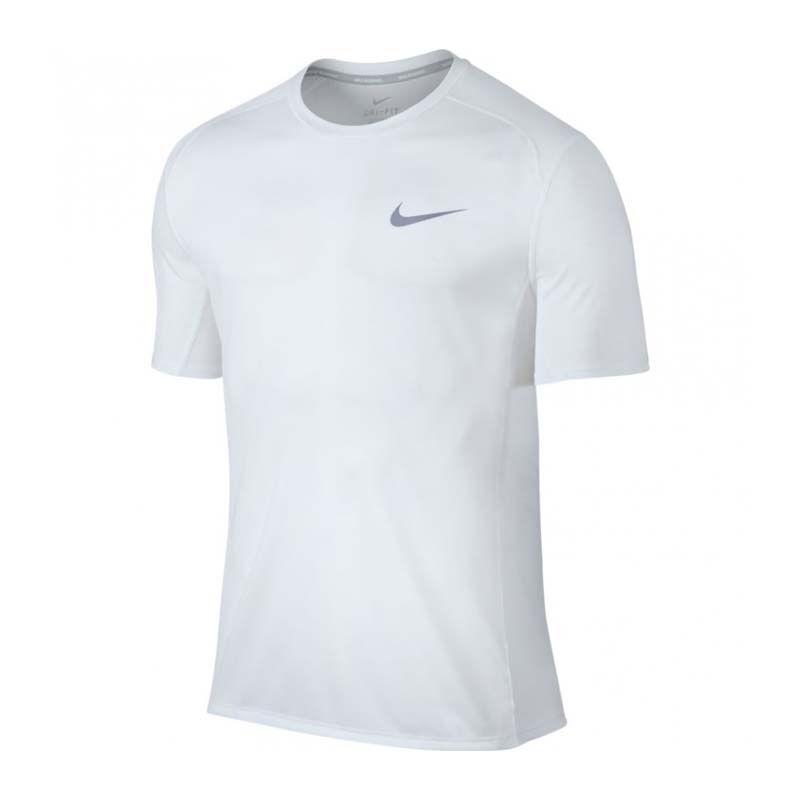 ed324947454ab3 Singapore. Nike As Dry Miler Top Short Sleeve - Men (White) 833592-043