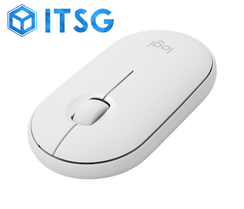 Logitech Pebble M350 Modern, Slim, and Silent Wireless and Bluetooth Mouse