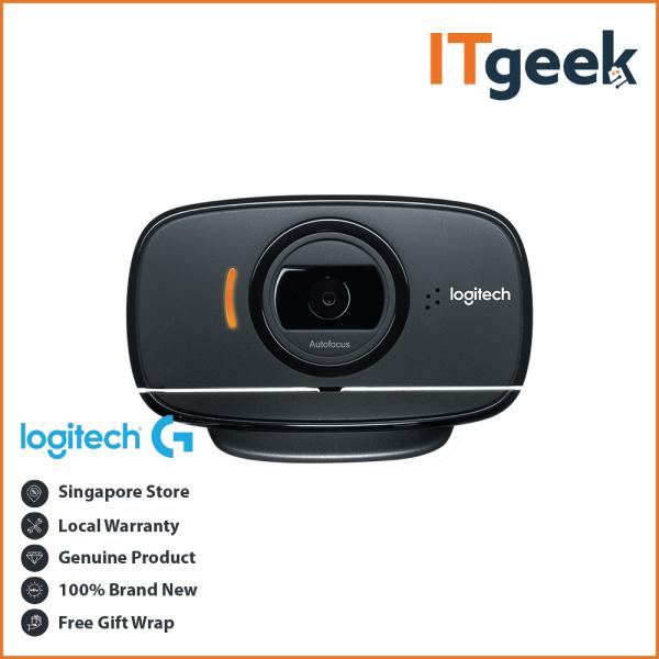 Logitech B525 HD Foldable Business Webcam