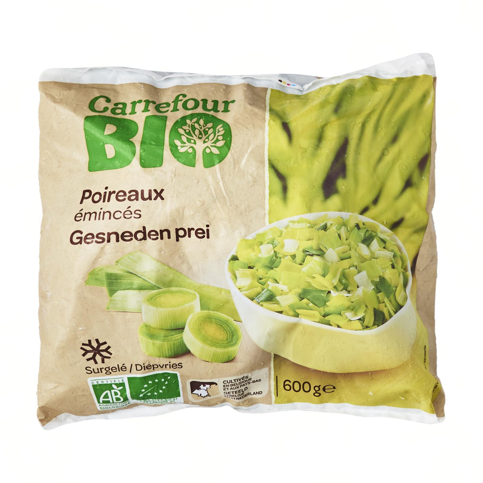 Carrefour Organic Sliced Leeks - Frozen - By Le Petit Depot