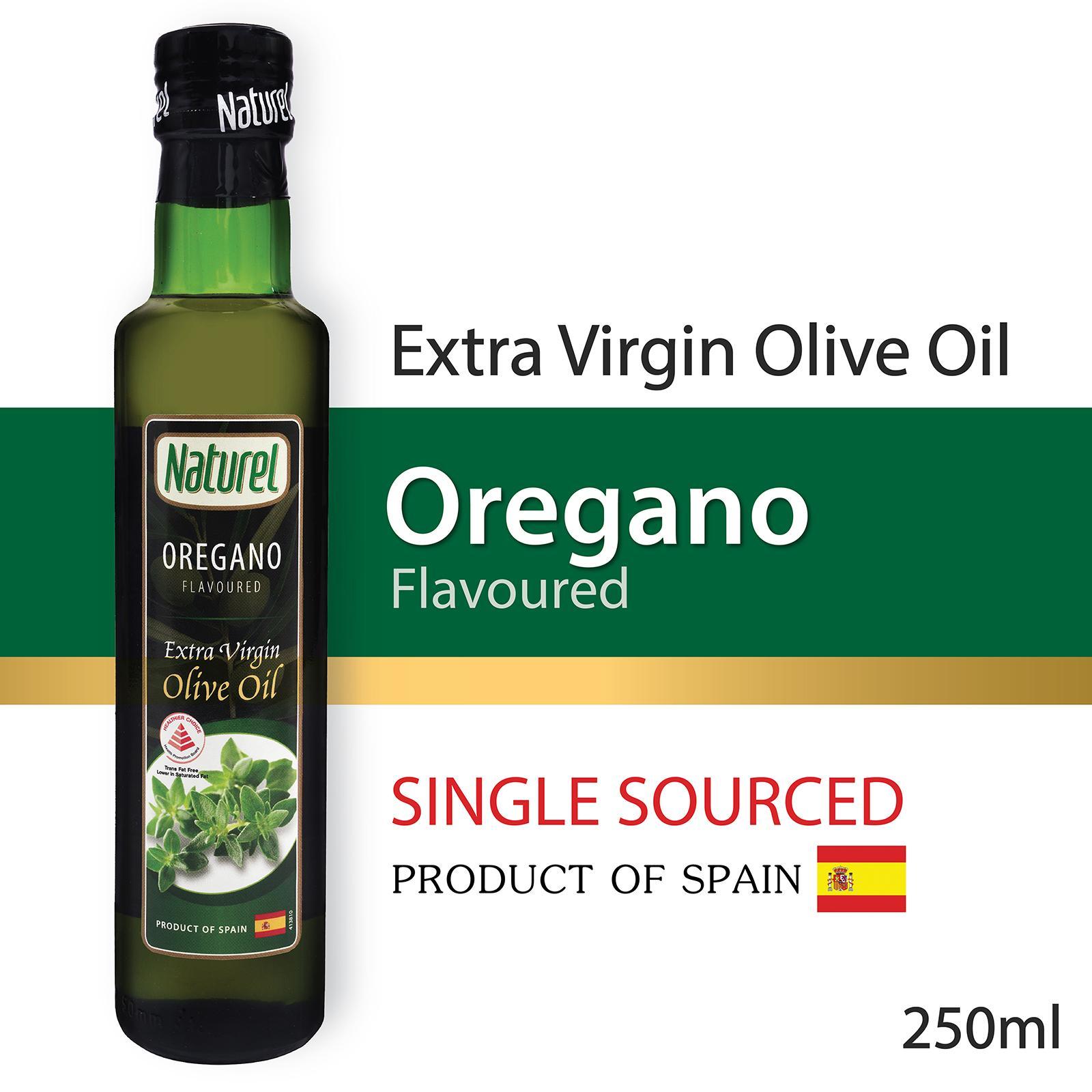 Naturel Extra Virgin Olive Oil - Oregano Flavoured