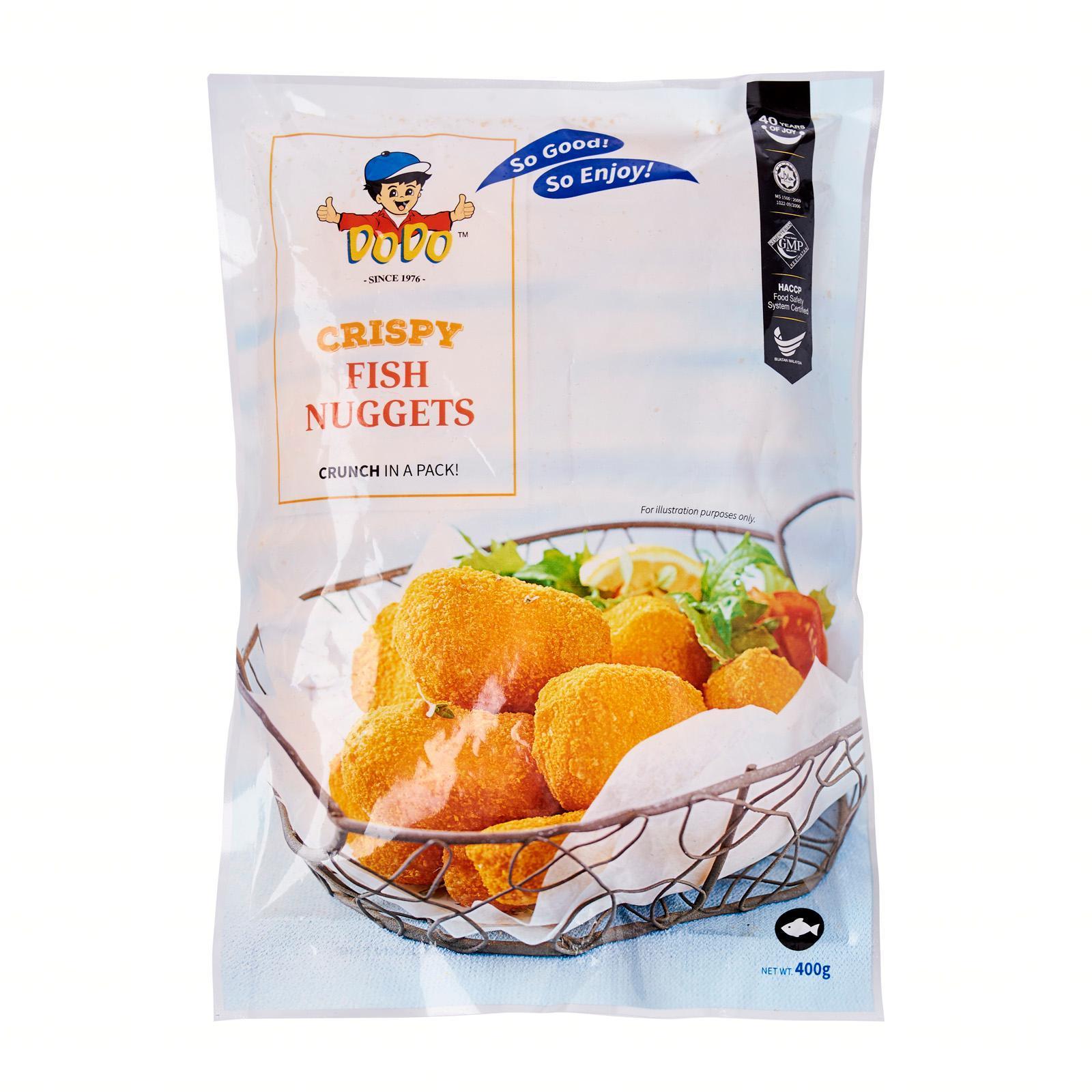 DoDo Breaded Fish Nugget - Frozen