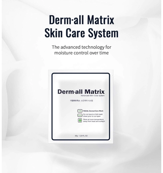 Buy Derm all Matrix Mask Pack (4pc) *35g | Dermal Care Facial Mask Collagen Singapore