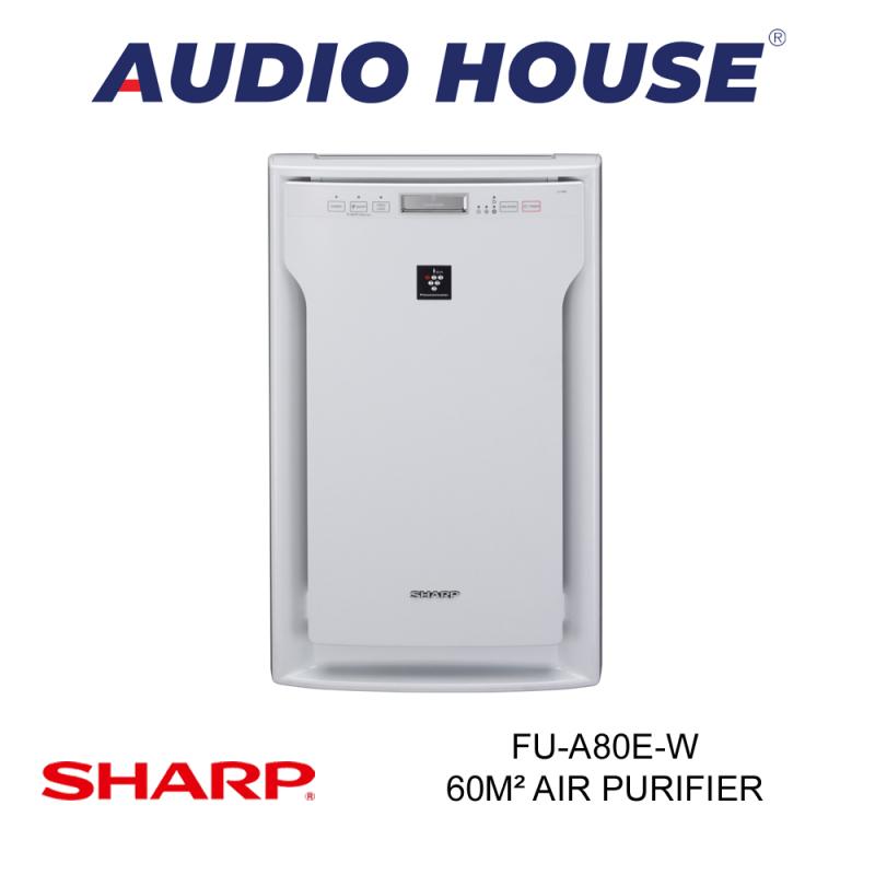 SHARP FU-A80E-W 62m² AIR PURIFIER ***1 YEAR SHARP WARRANTY*** Singapore