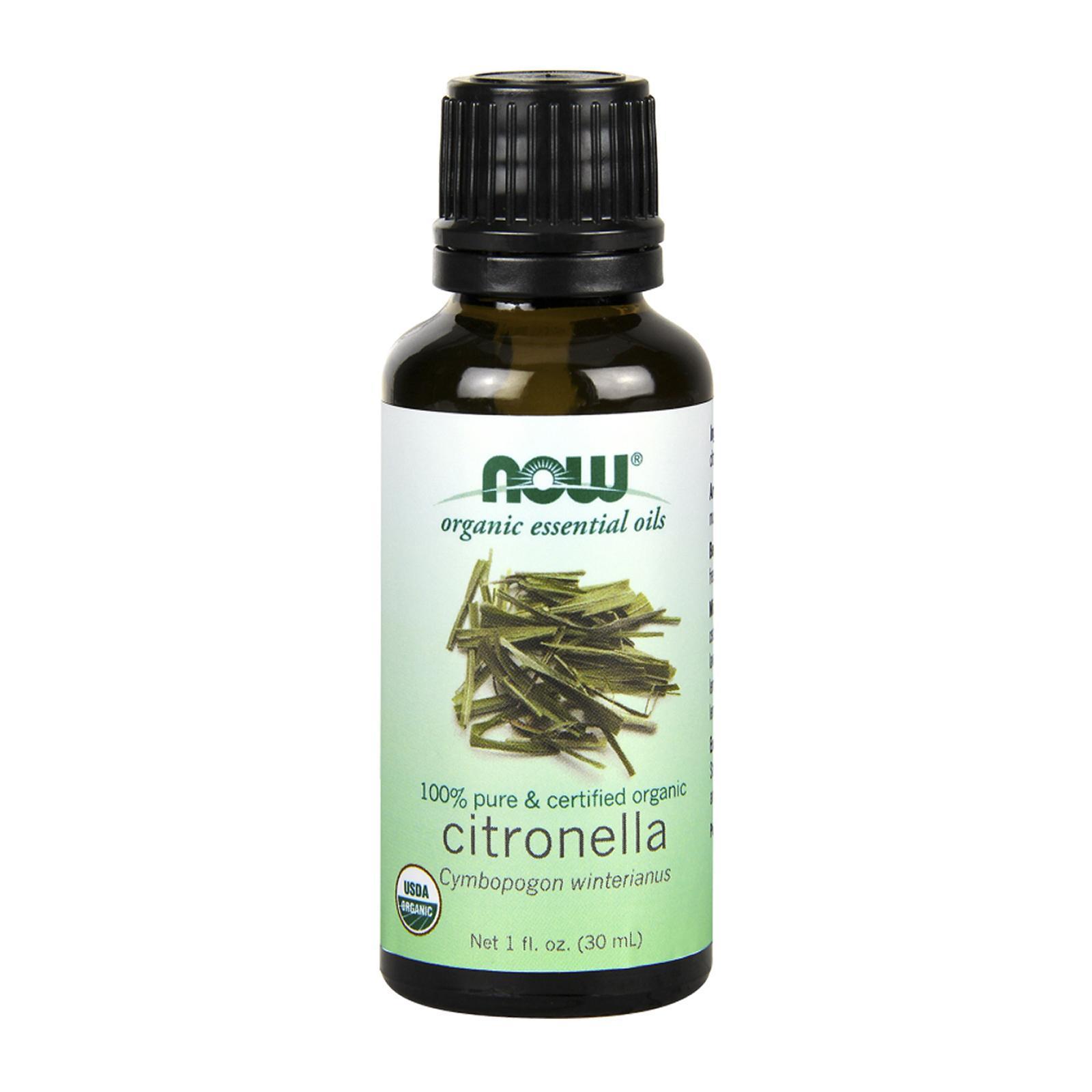Now Foods Organic Essential Oil Citronella 1 Oz (30Ml)