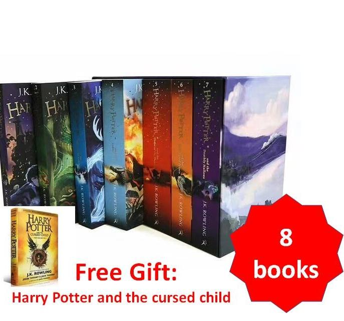 [SG Ready Stock] Harry Potter complete Collections 8 books c2