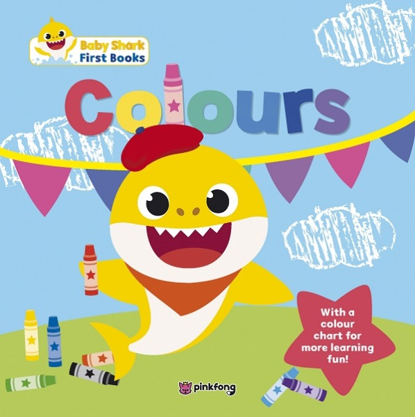 Baby Shark My First Book Of Colours / English Toddler Books / (9789814868181)
