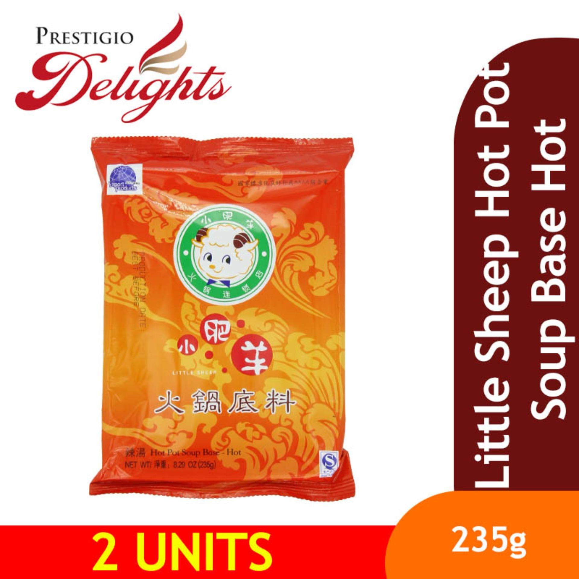 Little Sheep Hot Pot Soup Base Hot 235g Bundle Of 2 By Prestigio Delights.