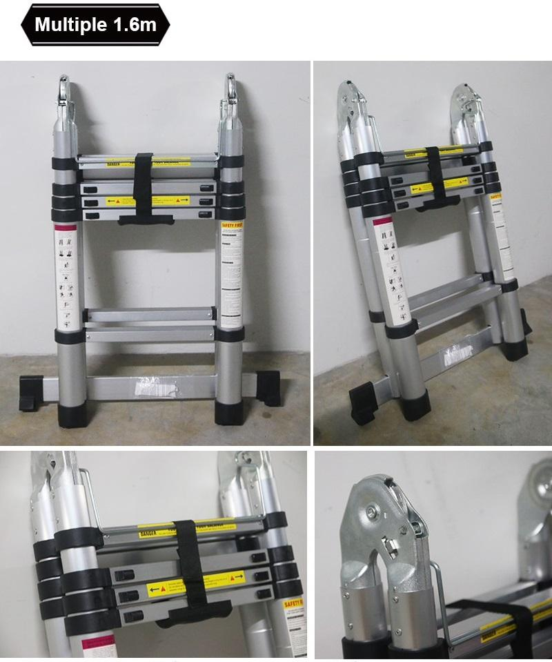 Portable / extendable multi function ladder STEEL LARGE BROAD STEP LADDER (3 and 5 Steps) 【BroadStep