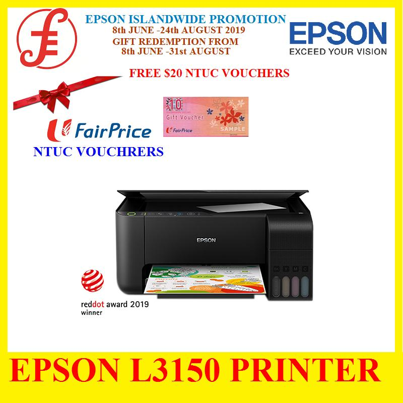 EPSON ECOTANK L3150 Printer Cartridge-free printing