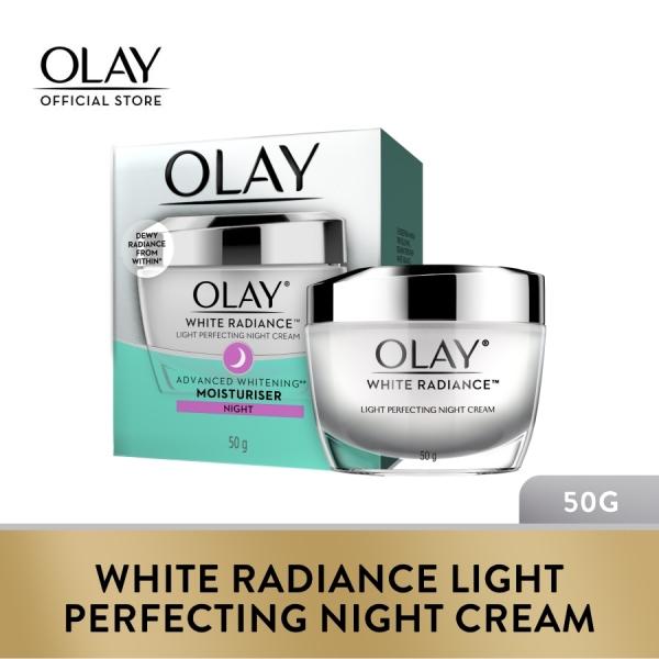 Buy Olay White Radiance Light Perfecting Night Cream 50g Singapore