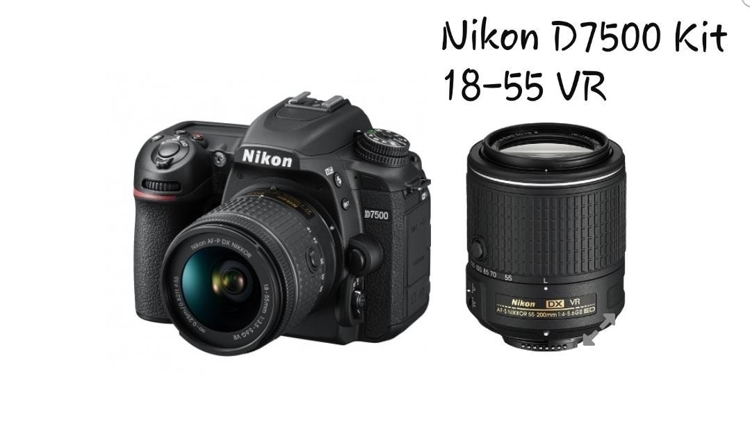 D7500 Kit 18-55 VR