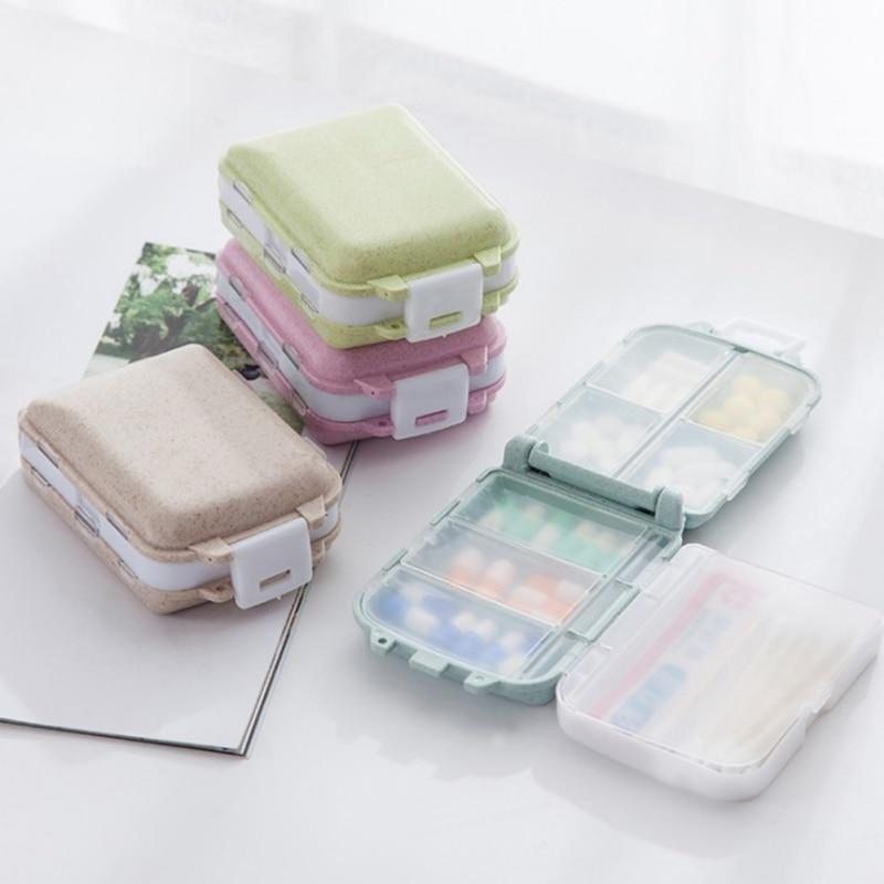 Pill Case Portable Storage Box (LLS1259) Singapore Seller + 100% Authentic.