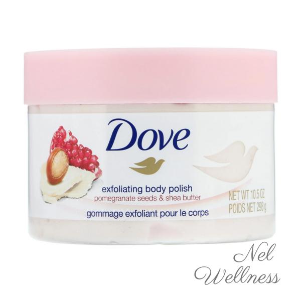 Buy Dove Exfoliating Body Polish Scrub Pomegranate Seeds & Shea Butter 10.5oz / 298g Singapore