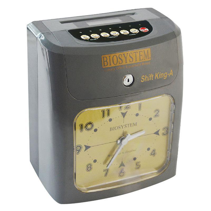 BIOSYSTEM TIME CLOCK / RECORDER SHIFT KING-A