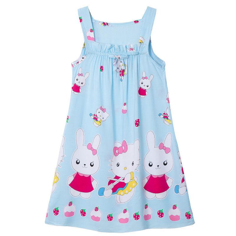 Nơi bán Quần Áo Trẻ Em 19 Cô Gái Quần Áo Mùa Hè Trẻ Em Cotton Lụa Thời Trang Cho Bé Váy Bé Gái