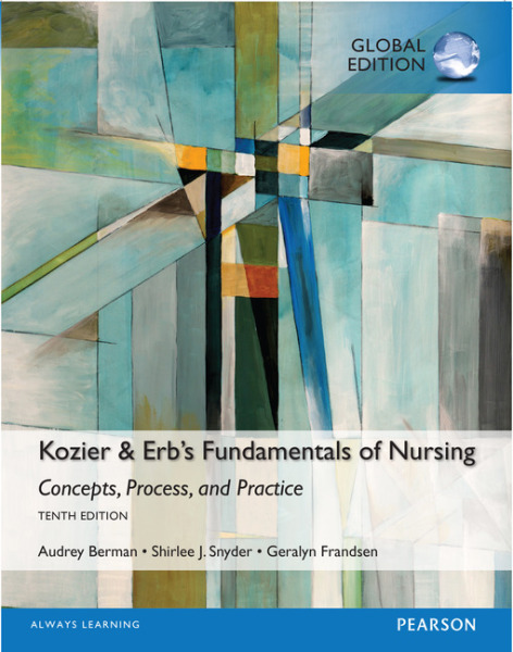 Kozier & Erbs Fundamentals of Nursing, Global Edition   Edition 10   9781292106106   Paperback