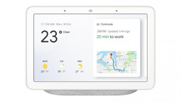 Google Home Hub with Voice-Activated Assistant - 7 Smart Touchscreen Singapore