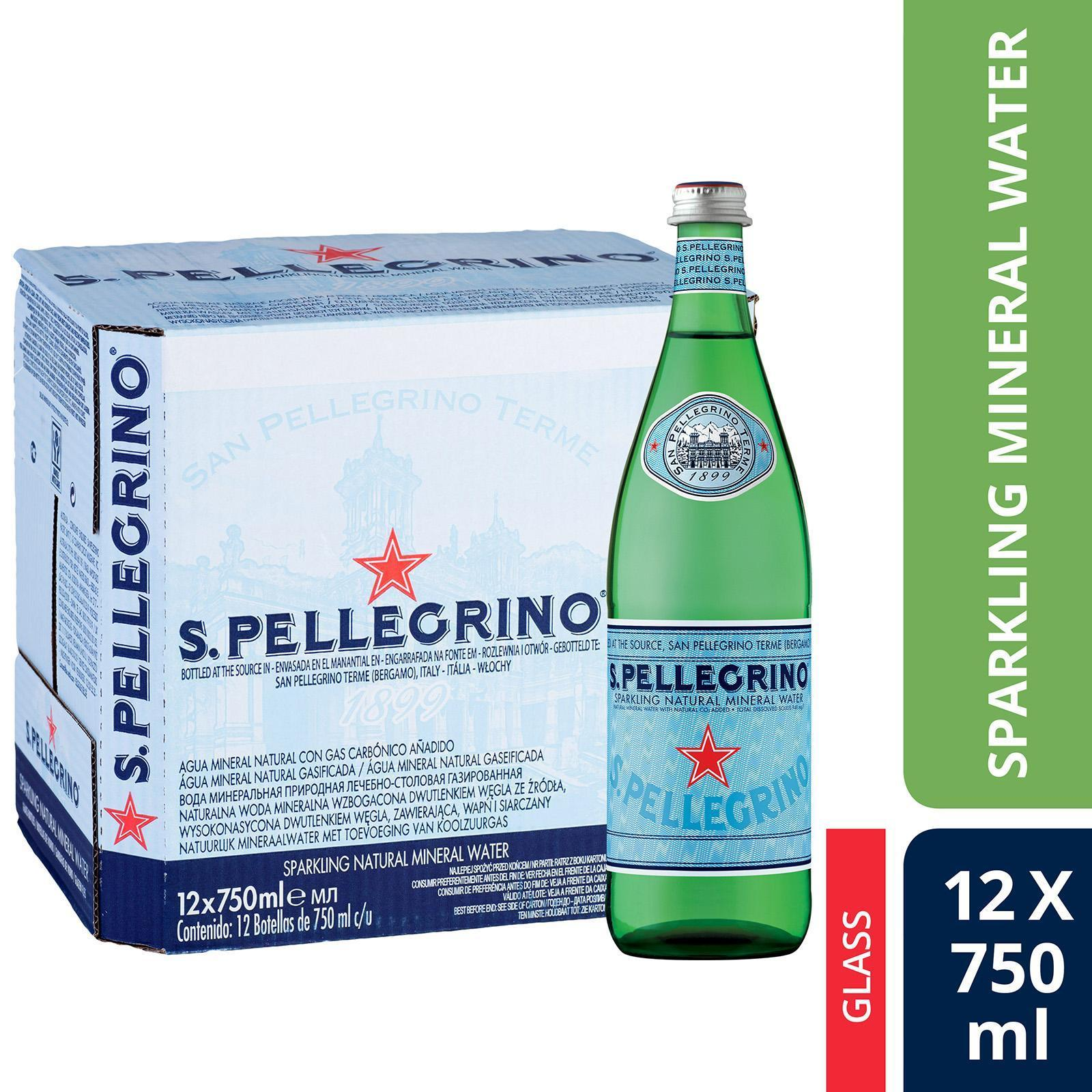 San Pellegrino Sparkling Natural Mineral Water - Case By Redmart.