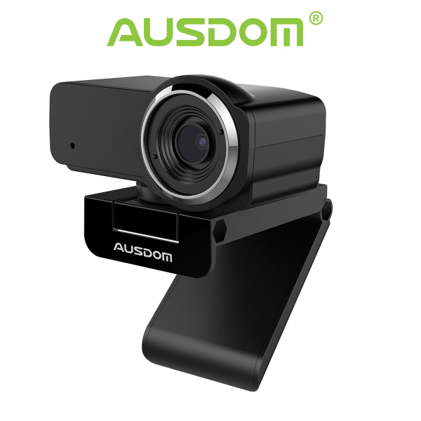 AUSDOM Webcam 1080P Streaming Live Camera for Video Chat with Microphone (AW635)