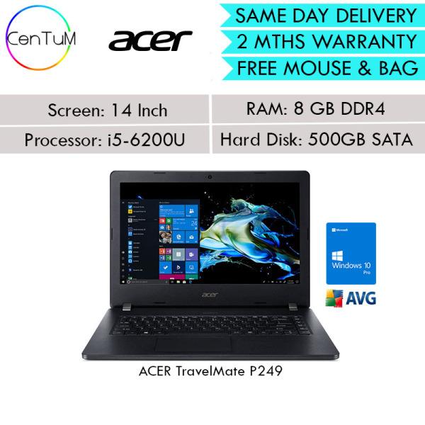 [Same Day Delivery] Refurbished ACER TravelMate P246 P248 P249 14 i5-4210U 6200U 2.20Ghz 4GB / 8GB / 500 SATA Win10 Pro